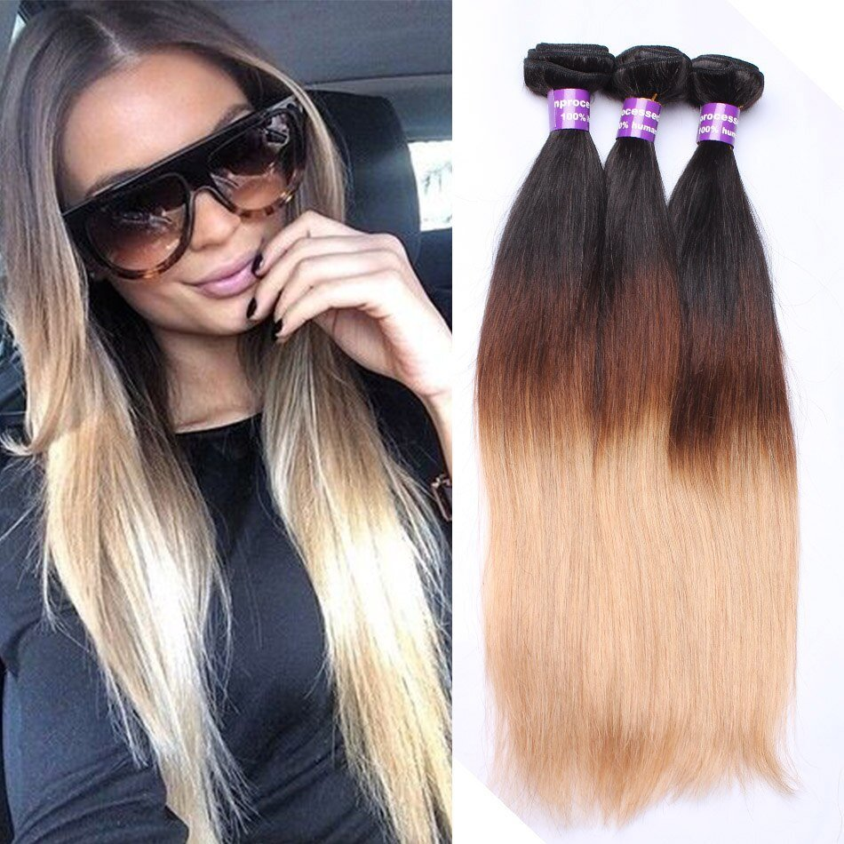 The Best Aliexpress Com Buy Ombre Hair Extensions Peruvian V*Rg*N Pictures