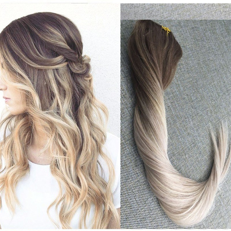 The Best Aliexpress Com Buy Full Shine Ombre Color 5 20 24 Clip Pictures
