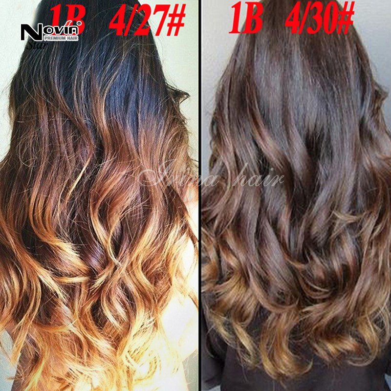 The Best Grade 7A Three Tone Ombre Malaysian V*Rg*N Hair Body Wave Pictures