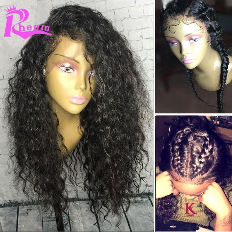 The Best Brazilian Curly Lace Wig Full Lace Human Hair Wigs For Pictures