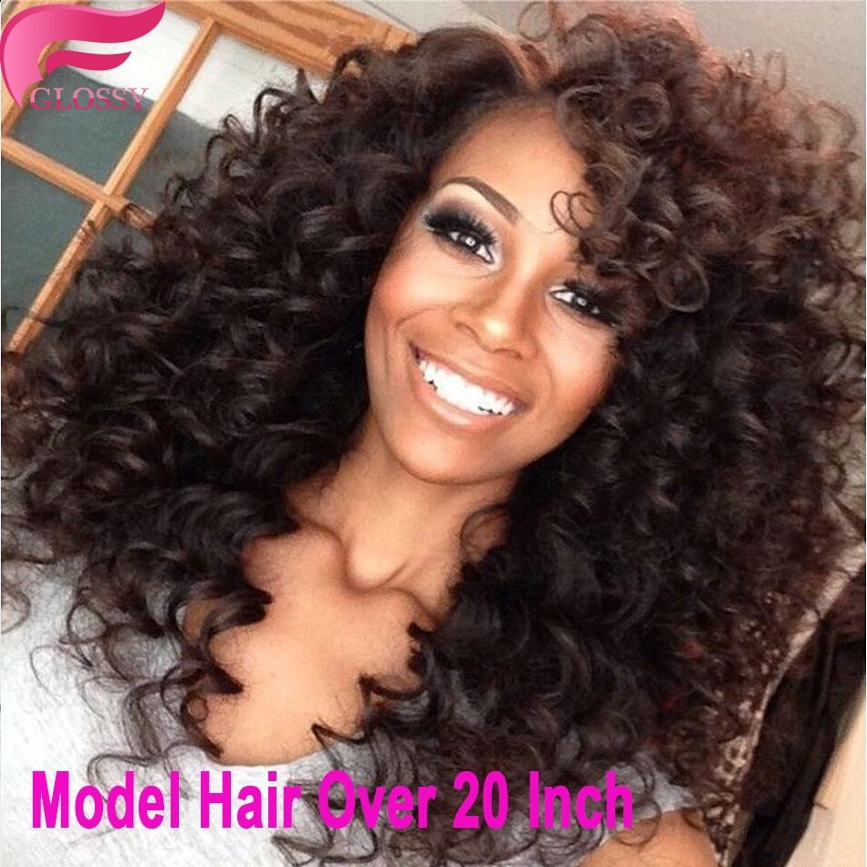 The Best 7A Brazilian K*Nky Curly V*Rg*N Hair 3 Bundles Spiral Curl Pictures