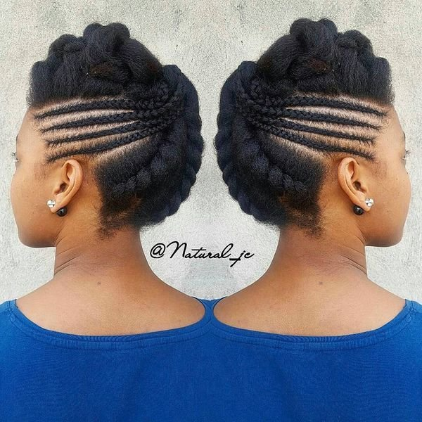 The Best African Braids Hairstyles Pretty Braid Styles For Black Women Pictures