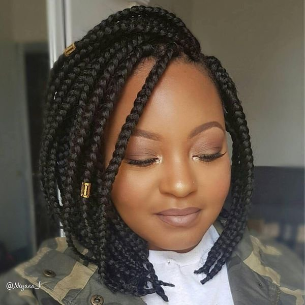 The Best 20 Braided Bob Hairstyle Ideas In 2018 Pictures