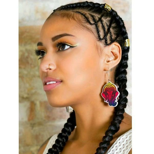 The Best Two Braids Hairstyles Ideas Trending In July 2019 Pictures