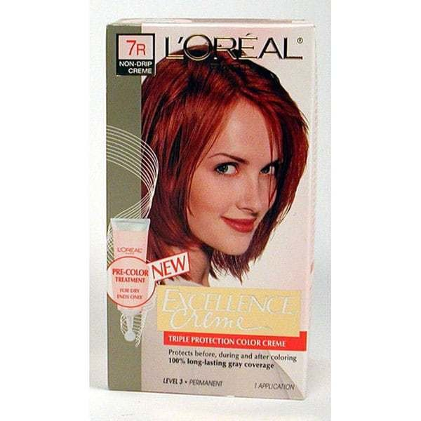 The Best L Oreal Excellence 7R Red Penny Hair Color Free Shipping Pictures