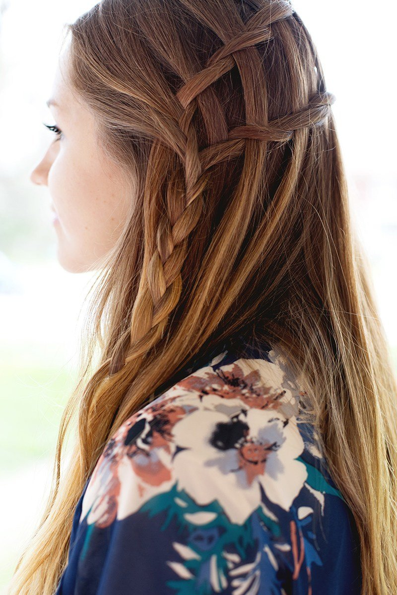 The Best How To Weave A Double Waterfall Twist Hairstyle Pictures