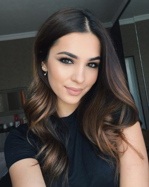 The Best 41 Incredible Dark Brown Hair With Highlights Trending For 2019 Pictures