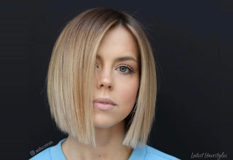 The Best These 14 Blunt Cut Bob Haircuts Are Trending In 2019 Pictures