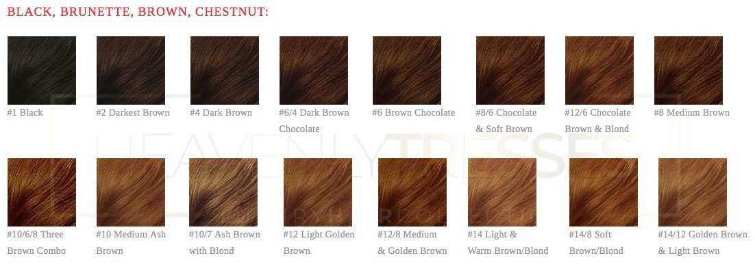 The Best Lace Wig Human Hair Color Chart Colored Lace Wigs Pictures