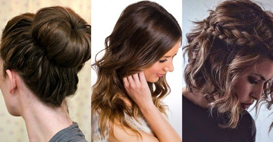 The Best 15 Easy Everyday Hairstyles To Try Hair Bow Guff Pictures