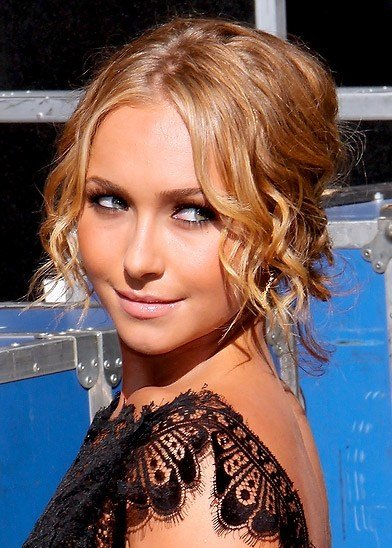 The Best Updos For Short Curly Hair Ciao Beautiful Pictures
