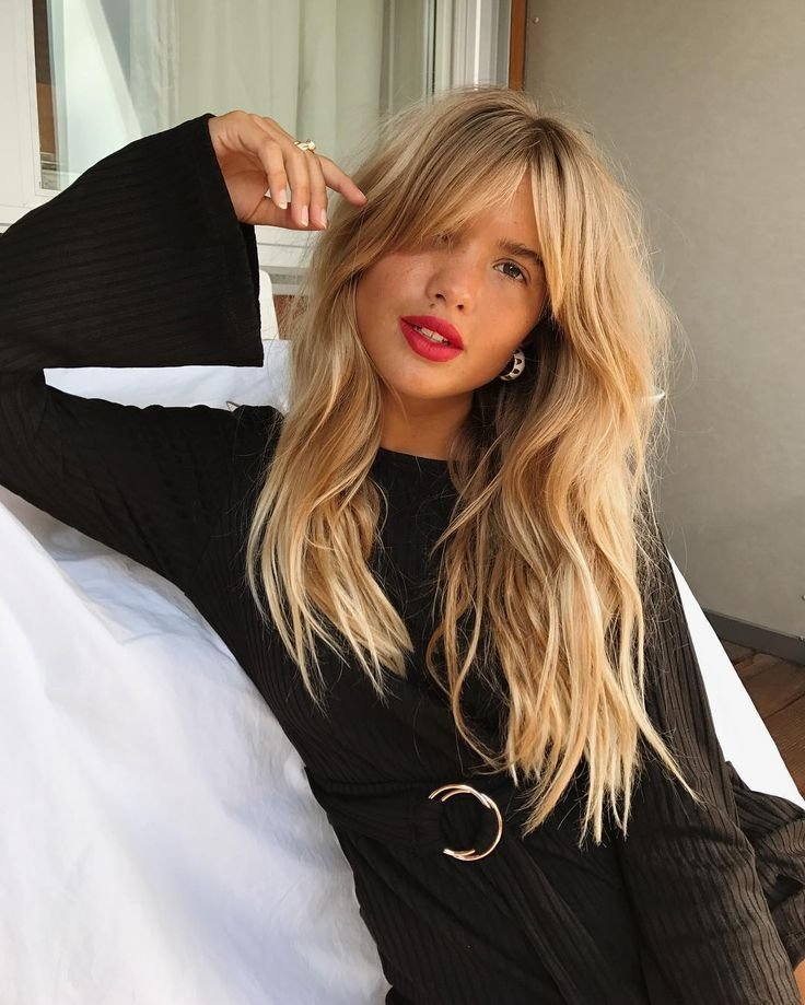The Best Long Hair Women S Styles French Girl Bangs Fashion Inspire Fashion Inspiration Magazine Pictures