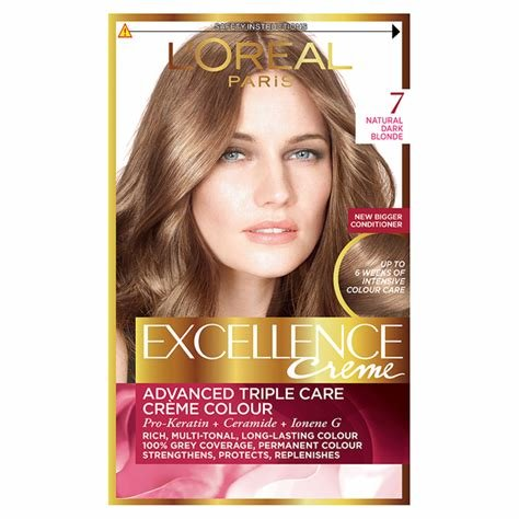 The Best Buy L Oreal Excellence Creme 7 Dark Blonde Hair Dye Pictures