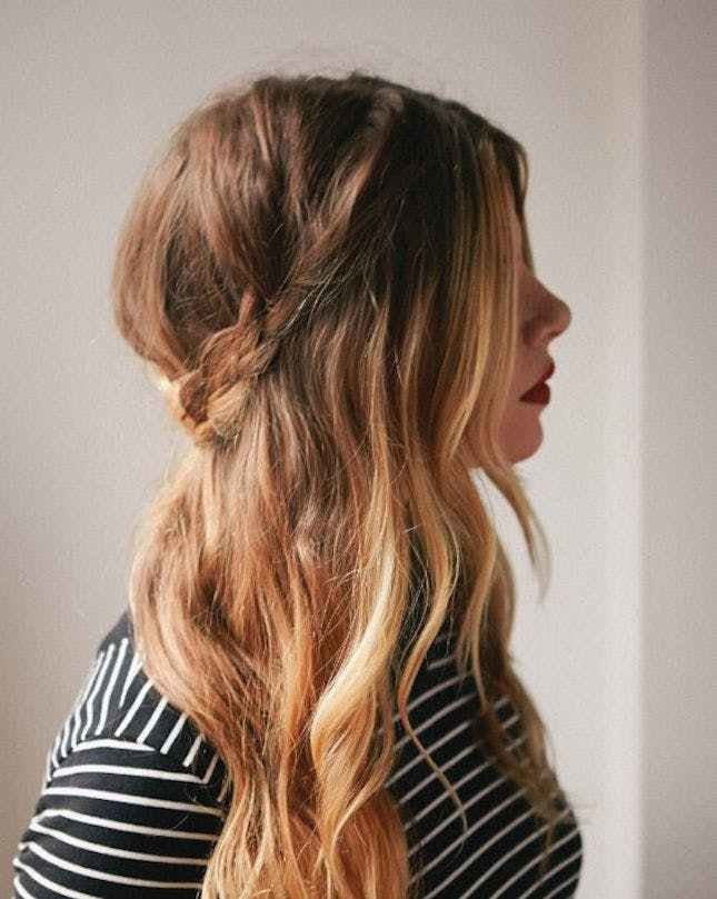 The Best 17 Easy Hairstyles For A Rainy Day Brit Co Pictures