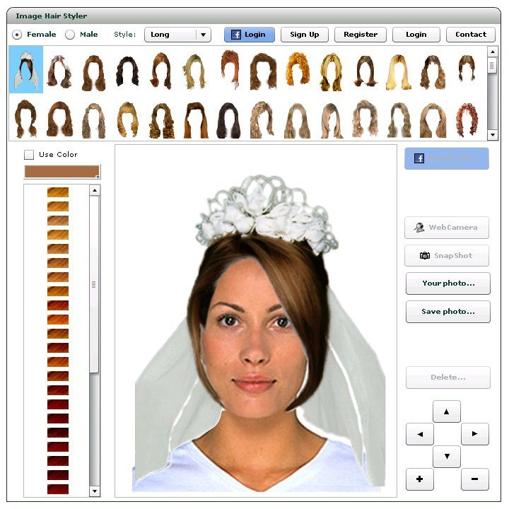 The Best Virtual Hairstyler Online How To Use Pictures