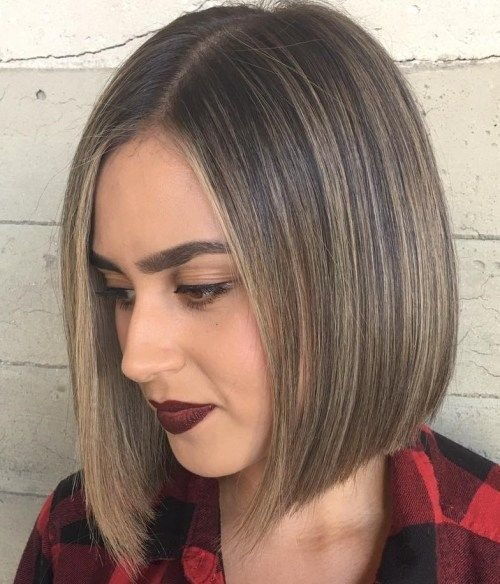 The Best Bob Hairstyles Are Not Generally Layered Yet Just A Straight Or Angled That Are Neck Length And Pictures