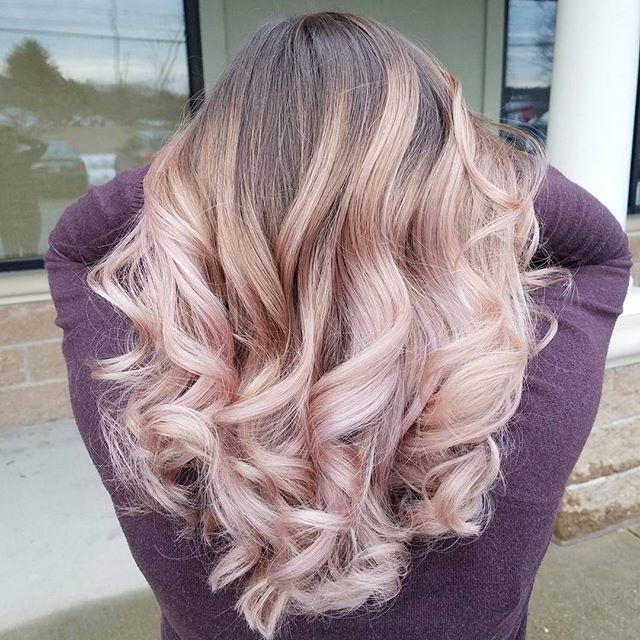 The Best The 25 Best Rose Gold Baylage Ideas On Pinterest Rose Gold Balayage Pastel Ombre Hair And Pictures