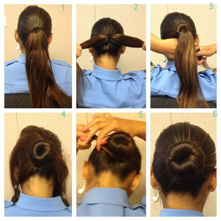 The Best Easy Buns For Thick Hair Hair Pictures