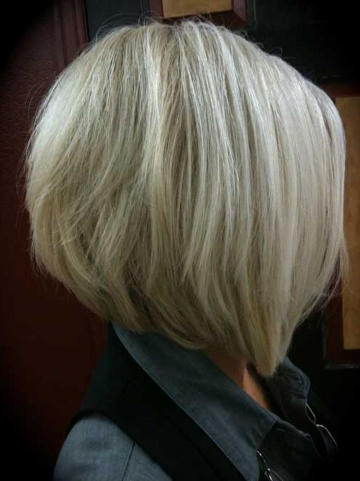 The Best Medium Inverted Bob Hairstyles Back View Graduated Bob Pictures