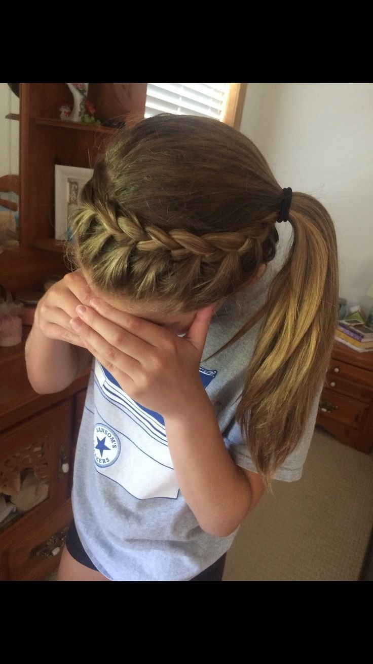 The Best 25 Beautiful Sporty Ponytail Ideas On Pinterest Picture Day Hairstyles Hairstyles For The Pictures