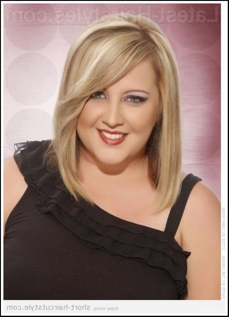 The Best Short Hairstyles For Fat Faces And Double Chins Http Pictures