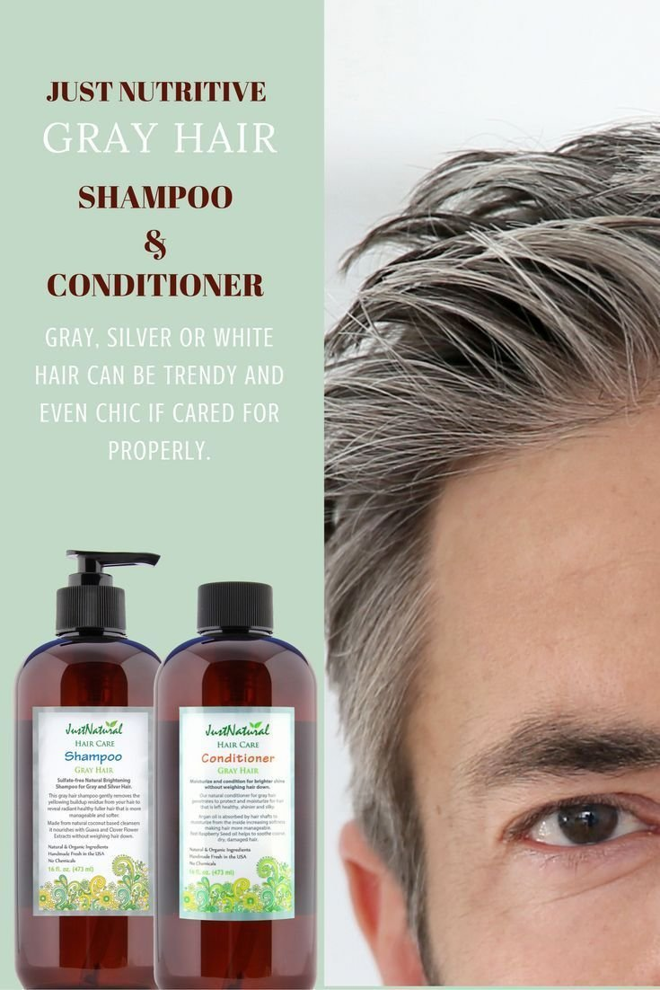 The Best 25 Beautiful Shampoo For Gray Hair Ideas On Pinterest Pictures