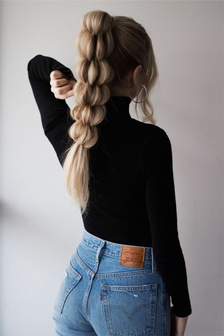 The Best Unique Braided Ponytail Hair Tutorial Hairstyles Hair Pictures