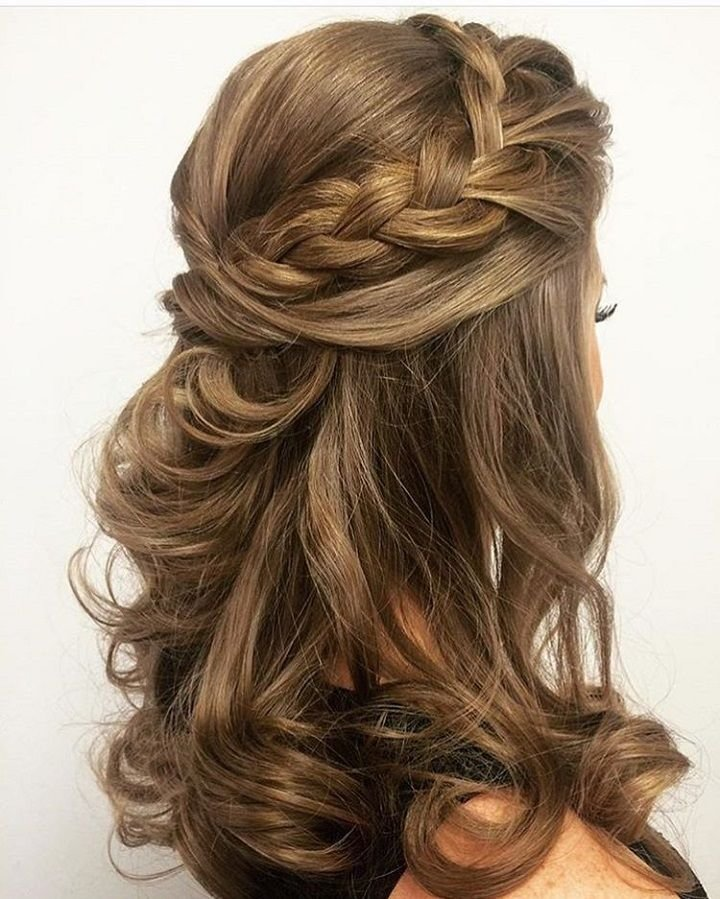 The Best Best 25 Half Up Half Down Ideas On Pinterest Prom Hair Pictures