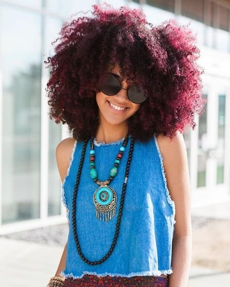 The Best Best 25 Burgundy Natural Hair Ideas On Pinterest Pictures