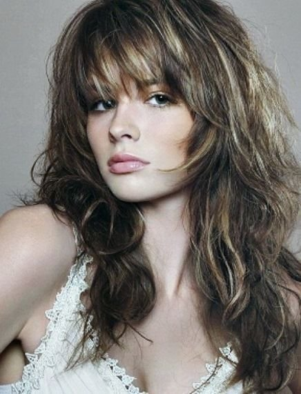 The Best 20 Long Layered Haircuts With Bangs Trendy Hairstyles For Pictures