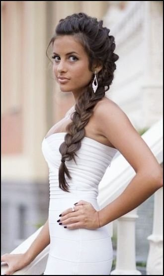 The Best French Braided Hairstyles For Prom Clean Simple Sporty Pictures