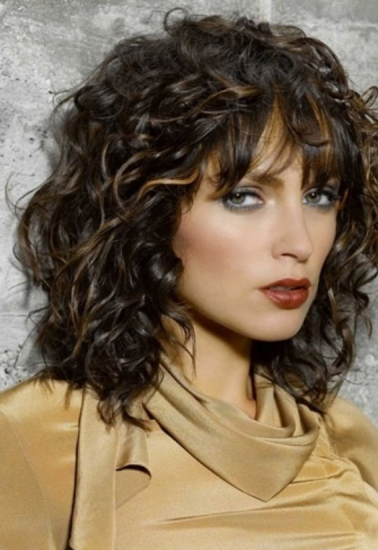 The Best Best 25 Layered Curly Hairstyles Ideas On Pinterest Pictures