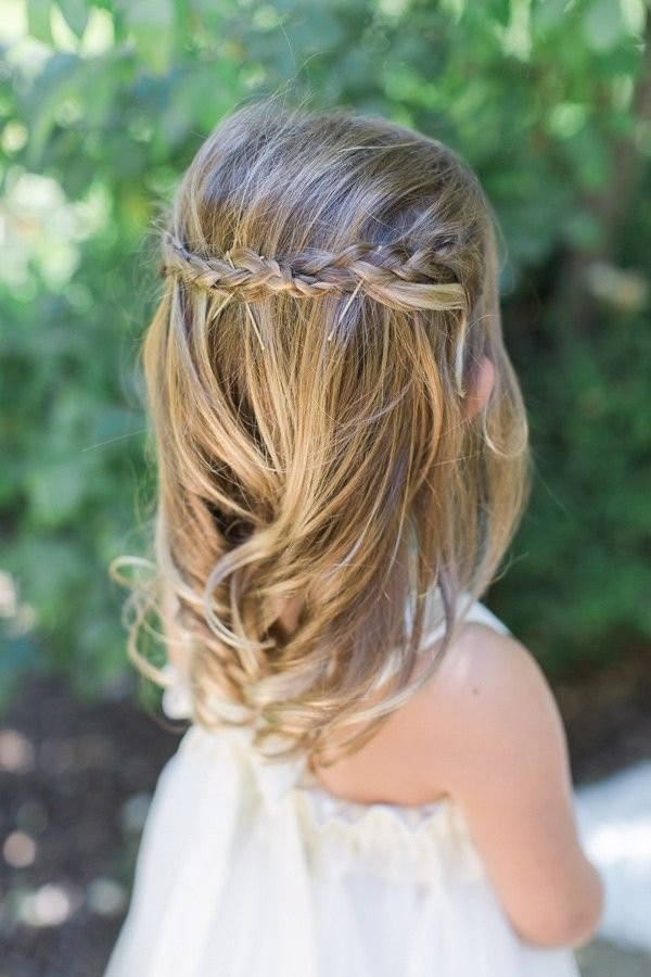 The Best Best 25 Flower Girl Hairstyles Ideas On Pinterest Girl Pictures