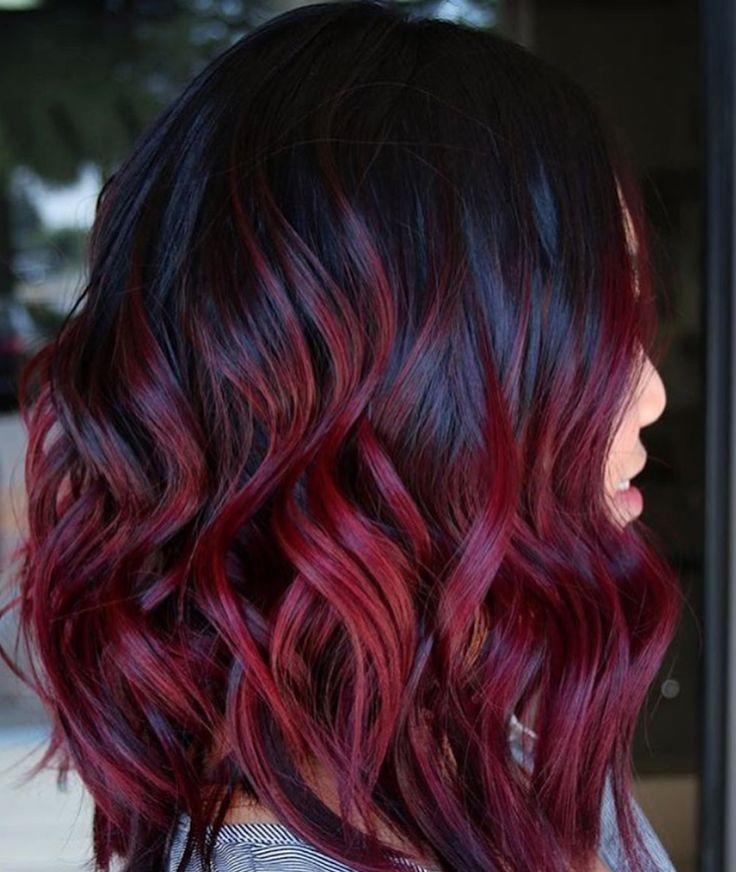 The Best Best 25 Red Balayage Ideas On Pinterest Dark Red Pictures