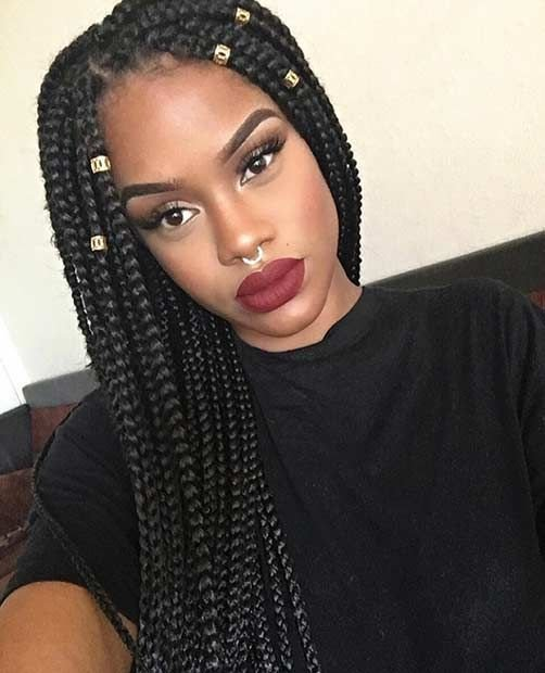 The Best Best 25 Poetic Justice Braids Ideas On Pinterest Jumbo Box Braids Big Box Braids Hairstyles Pictures