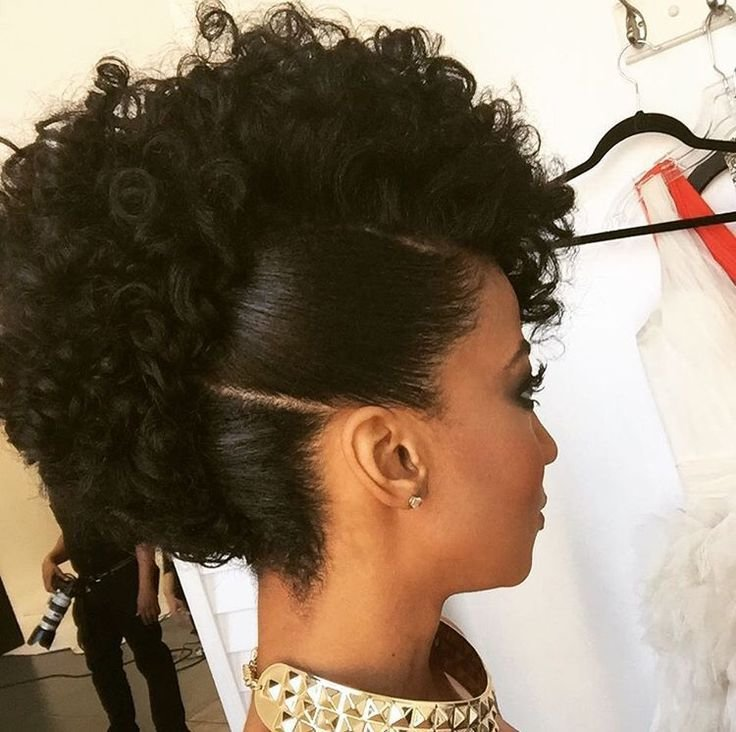 The Best Best 25 Curly Mohawk Hairstyles Ideas On Pinterest Pictures