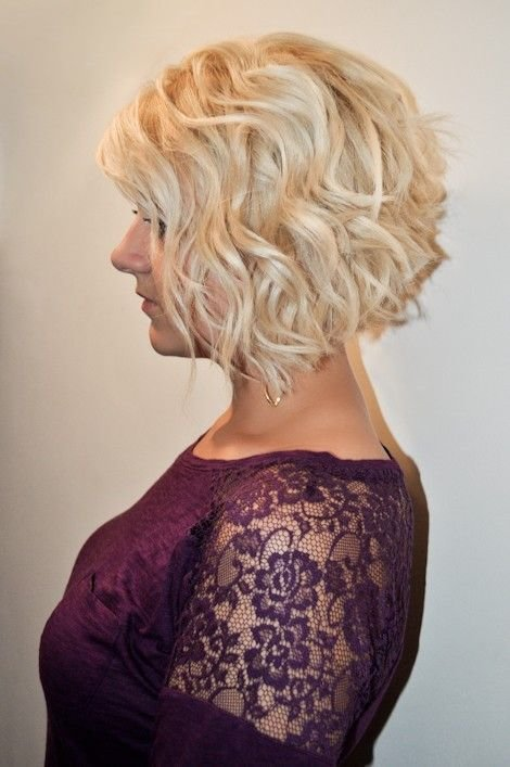 The Best Cute Curly Inverted Bob Hairstyles Hair Motivations Pictures
