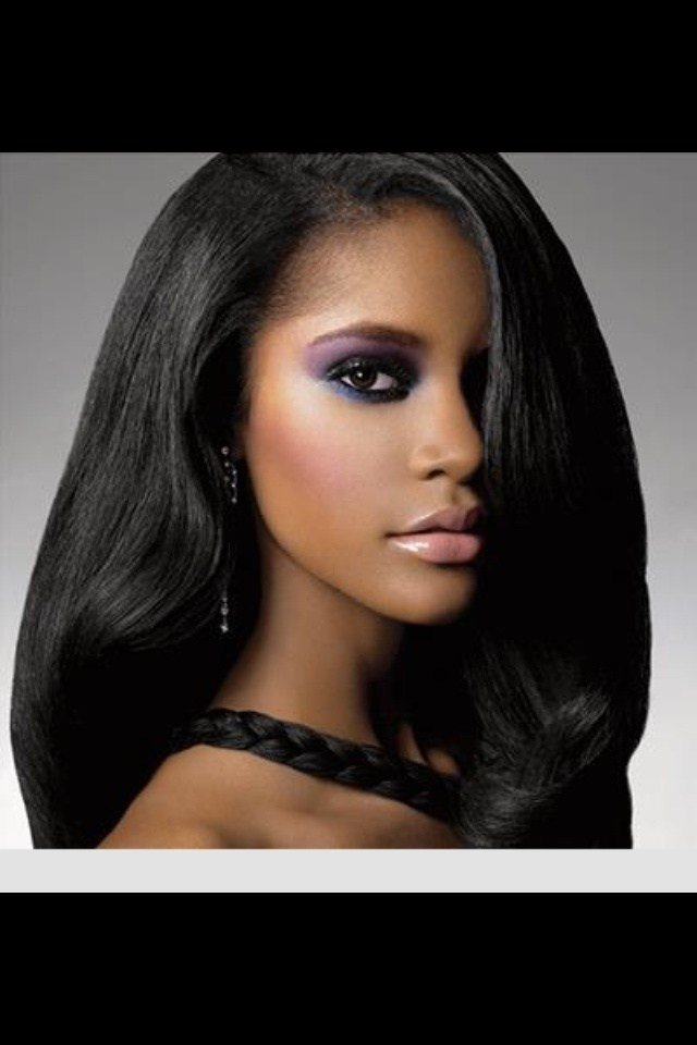 The Best 80 Best Relaxed Flat Iron Hair Images On Pinterest Pictures