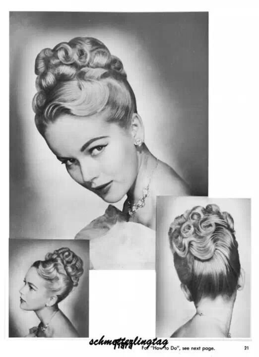 The Best 22 Best 1950S Hairstyles Images On Pinterest 1950S Pictures