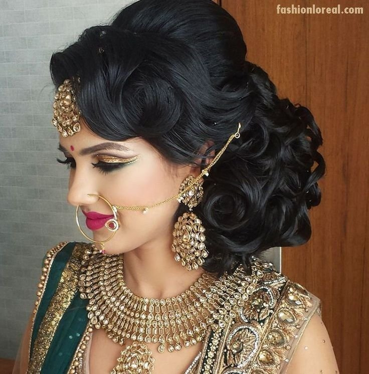 The Best Indian Wedding Hairstyles Indian Wedding Hairstyles In Pictures
