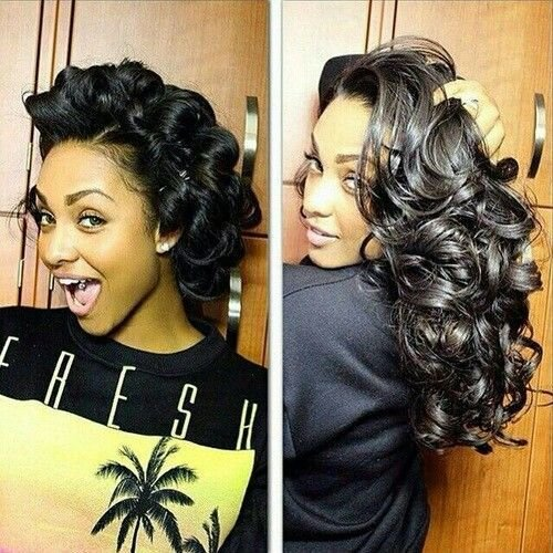 The Best Image Result For Pin Curl Hairstyles For Black Women Pictures