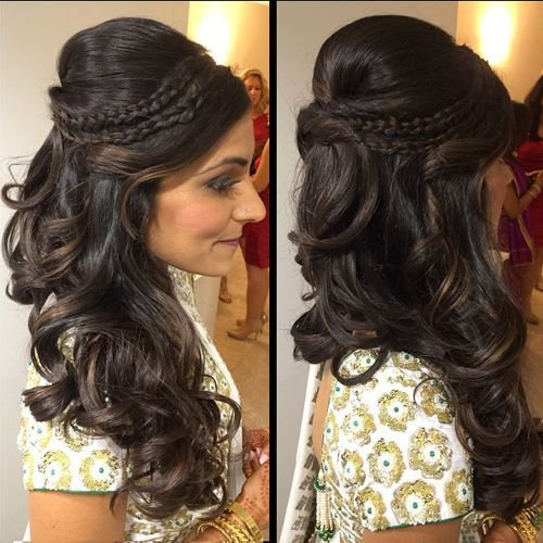 The Best Latest Indian Wedding Hairstyles 2016 2017 Dashymedia Pictures