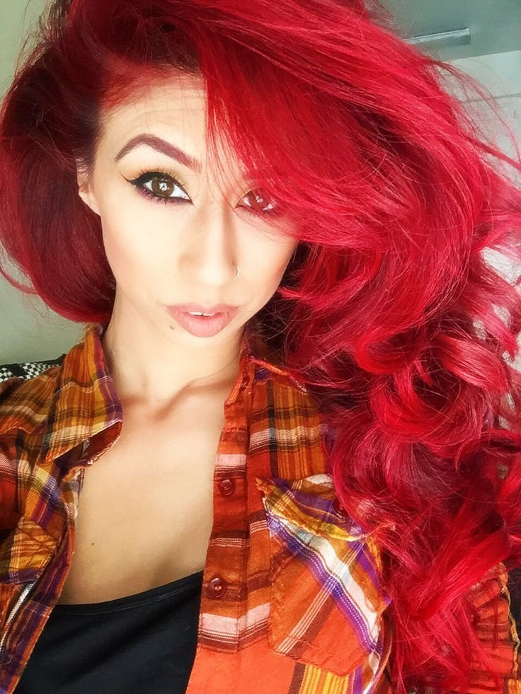 The Best Red Hair Manic Panic Vampire Red No Bleach How To Keep Pictures