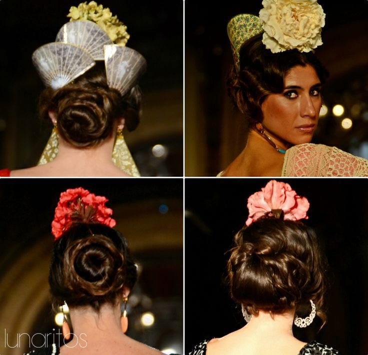 The Best 14 Best Peinados Flamencos Images On Pinterest Hair Dos Pictures