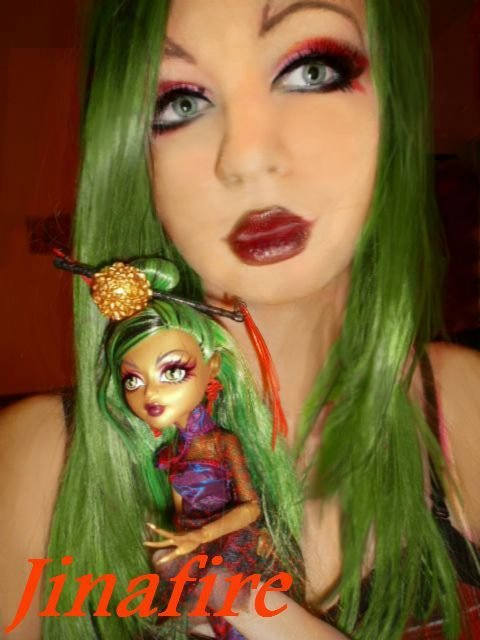The Best Monster High Jinafire Long Cosplay Makeup Cosplay Hair Pictures