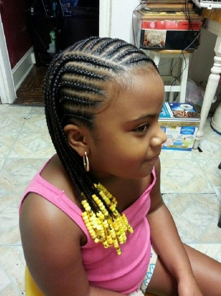 The Best Little Girl Natural Hairstyles Cornrow Awesome Little Pictures