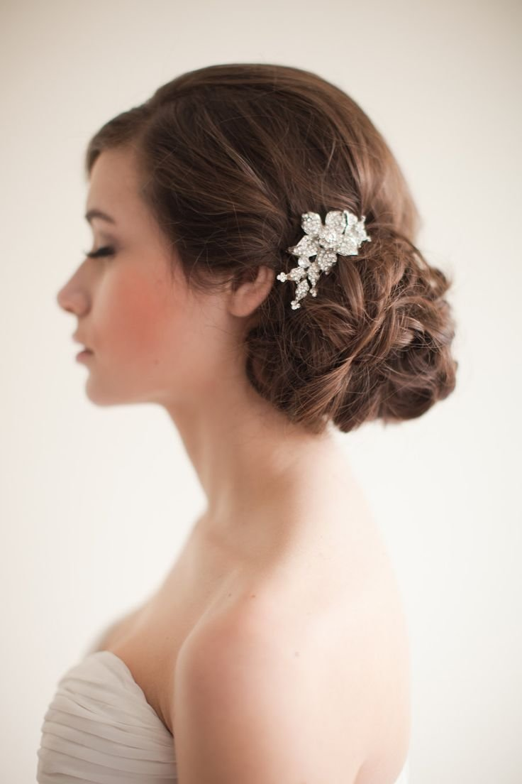 The Best Best 25 Bridal Side Bun Ideas On Pinterest Side Hairdo Wedding Updo Side And Loose Bun Pictures