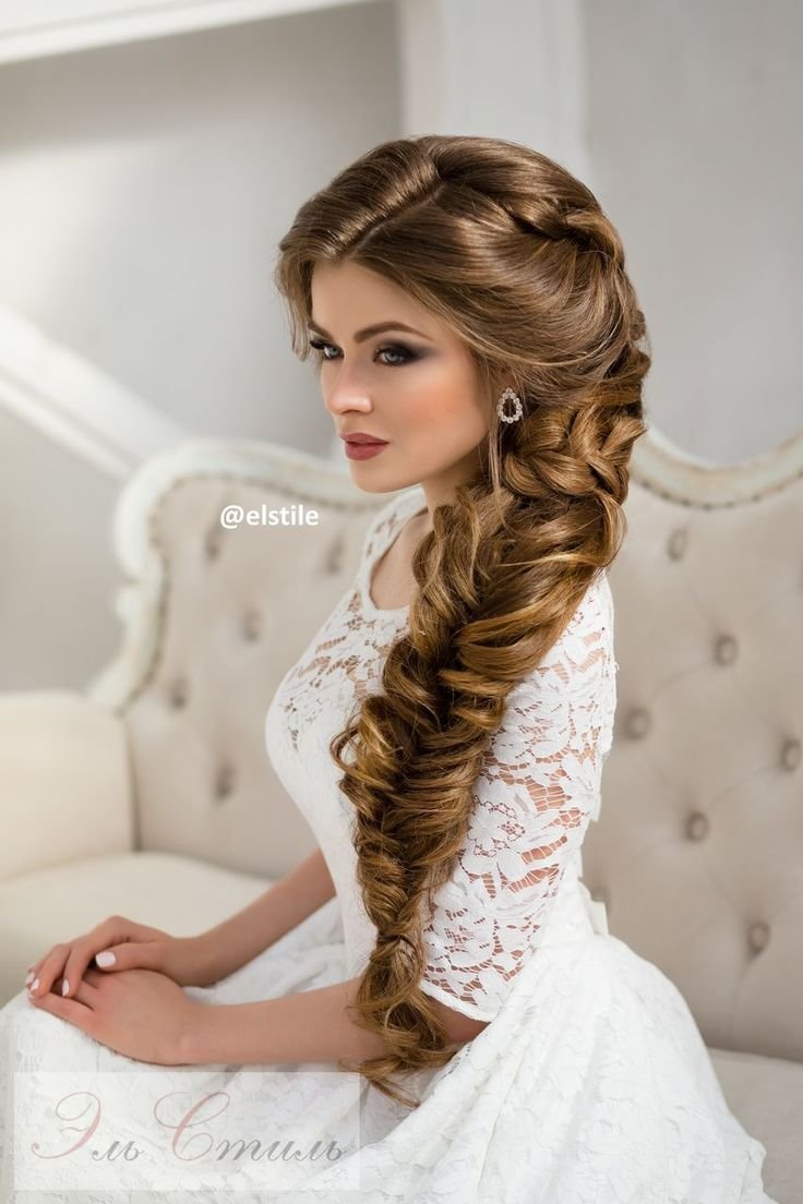 The Best Pin By Deer Pearl Flowers Wedding Blog On Wedding Hairstyles Braided Hairstyles For Wedding Pictures