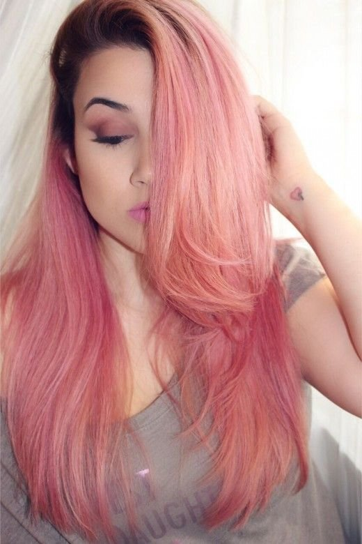 The Best 25 Beautiful Pink Ash Hair Ideas On Pinterest Pink Grey Pictures