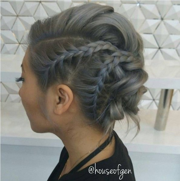 The Best Best 25 Edgy Updo Ideas On Pinterest Side Braided Hair Pictures